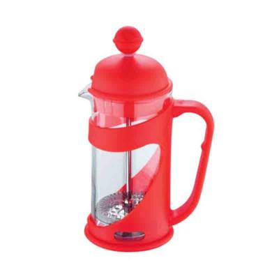 Infuzor ceai/cafea Renberg, 800 ml, Rosu foto
