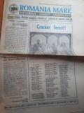 ziarul romania mare 20 decembrie  1996-numar cu ocazia zilei de Craciun