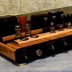 Amplificator stereo , Hi-End  cu lampi