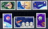 1964 LP599 serie Cosmonautica MNH, Spatiu, Nestampilat