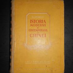 G. EFIMOV - ISTORIA MODERNA SI CONTEMPORANA A CHINEI