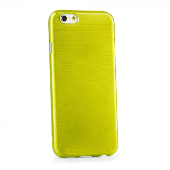 Husa SAMSUNG Galaxy S6 Edge - Jelly Brush (Verde)