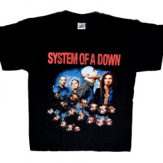 Tricou System Of A Down - band si cranii