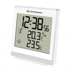 Statie meteo wireless Bresser SQ, termometru, alarma, tip ecran digital