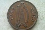 MONEDA 1 PENNY 1948-IRLANDA, Europa
