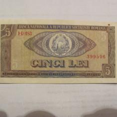 CY - 5 lei 1966 Romania / frumoasa