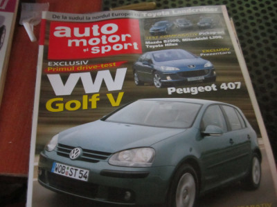 auto motor si sport an 2004 ianuarie h 27 foto