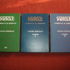 CODUL PENAL COMENTAT SI ADNOTAT - PARTEA GENERALA, PARTEA SPECIALA VOL.1 SI 2