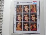 Bloc timbre pictura Rubens nestampilat Paraguay timbre arta picturi KLEINBOGEN