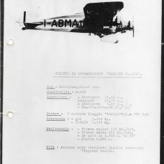 Fotografie avion Caproni Ca 101 al doilea razboi mondial