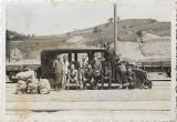 Fotografie drezina romaneasa perioada monarhista