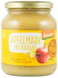 Piure ecologic de mere cu banane, 360 g Nur PUUR