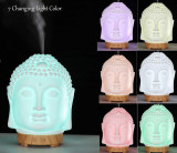 Difuzor aromaterapie Buddha, ultrasonic, 100ml, LittleDomi ,Ceramica