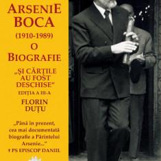 """Florin DUTU.  """"Şi cărţile au fost deschise"""". Părintele Arsenie Boca: o biografie"""