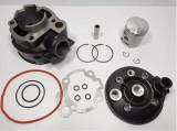 Kit Cilindru - Set Motor + Chiuloasa Scuter Yamaha DT SM 80cc 47mm - 2 Segmenti