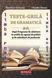 Cumpara ieftin Teste grilă de gramatică limbii române și a limbii engleze după programa de admitere în școlile de agenți de poliție și de subofițeri de jandarmi