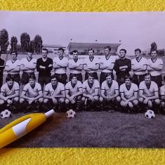 Foto(veche`70)fotbal-echipa TRAKIA PLOVDIV (Bulgaria) cateva autografe originale
