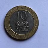 T989 Kenya 10 schillings 2005, Africa