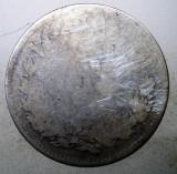 R.081 ROMANIA 2 LEI 1873 ARGINT 9,5g