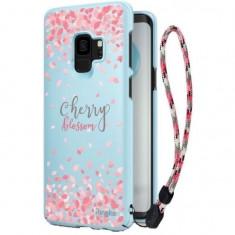 Cumpara ieftin Husa Samsung Galaxy S9 G960Ringke Cherry Blossom Albastra