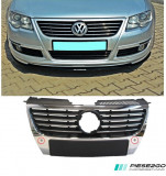 Grila radiator cu orificii pentru senzori parcare VW Passat B6 2005-2010, Volkswagen, PASSAT (3C2) - [2005 - 2010]