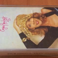 KYLIE MINOGUE - Enjoy Yourself ( 1989 ) - Caseta Audio Originala  ( PWL )