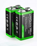Acumulatori 9V Ni-Mh 280 mAh, ready to use - 2 buc / set