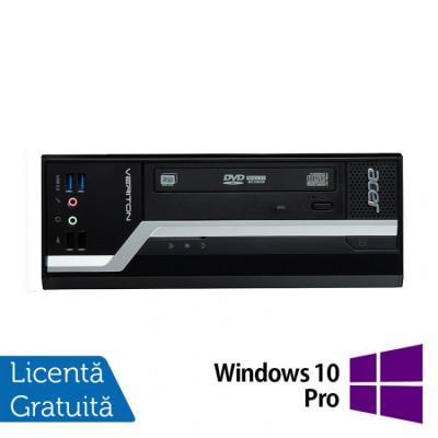 Calculator Acer Veriton X4630 SFF, Intel Core i3-4170 3.70GHz, 4GB DDR3, 500GB SATA + Windows 10 Pro foto