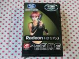 Placa video Sapphire HD 5750 1 Gb/128biti DDR5,DX 11., PCI Express, Ati
