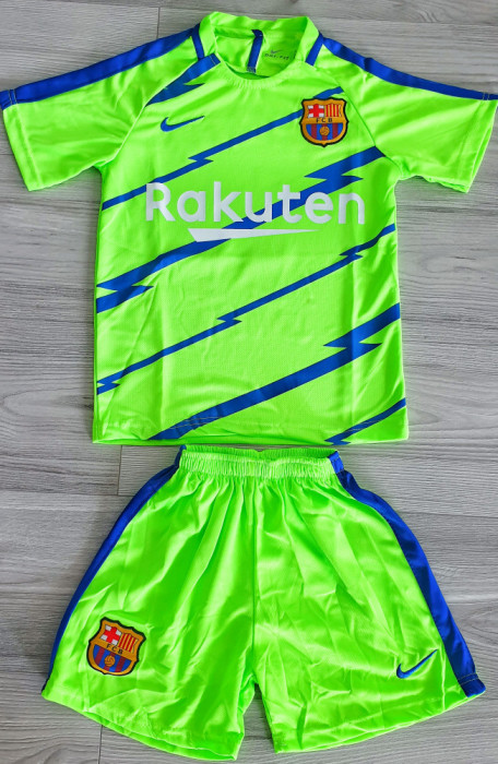Compleu Echipament fotbal pentru copii 5-6 ani FC Barcelona DEMBELE