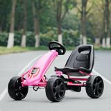 Kart cu pedale pentru copii Roz