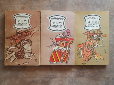 Osanditii mlastinilor 3 vol. - Shi Naian foto