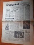 Sportul 12 ianuarie 1980-interviu cu tanarul antrenor mircea lucescu
