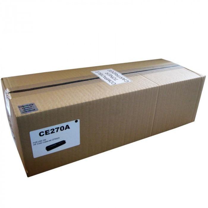 Cartus toner Remanufacturat compatibil cu HP CE270A
