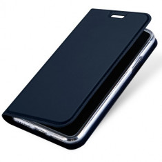 Husa iPhone X - DUX DUCIS Book Type Blue