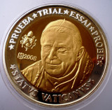 5.359 VATICAN PAPA BENEDICT XVI MODEL 10 EURO SPECIMEN PRUEBA TRIAL ESSAI PROBE