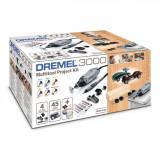 DREMEL 3000-4/45 Unealta multifunctionala + set 45 accesorii F0133000KK