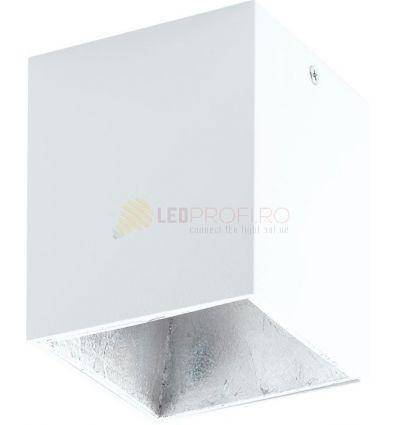 PLAFONIERA LED 3.3W ALB ARGINT