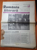 Romania literara 4 mai 1989-omagiu la inceput de mai