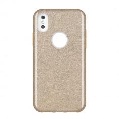 Husa Huawei P Smart 2019, Glitter / Sclipici, Gold