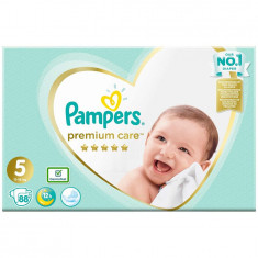 Scutece Pampers Premium Care 5 Mega Box, 88 bucati