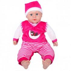 Bebelus de jucarie, Actual Investing, cu sunete, roz, +3 ani