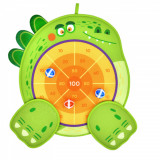 Joc Darts Scratch cu arici pentru copii, model Dinozaur