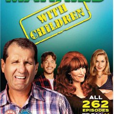 FILM SERIAL Married With Children 33 DVD Mega Box Set( Familia Bundy )