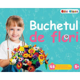 Puzzle 3D Buchetul de flori Edu Class, 48 piese, 5 ani+