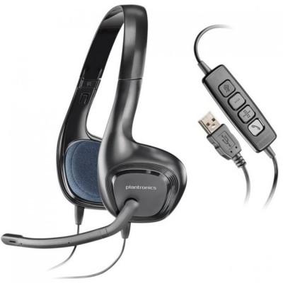 Casti cu microfon PLANTRONICS ,AUDIO 628, PC headset foto