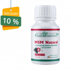 MSM CAPSULE 100% natural, 180 capsule