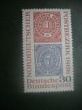 HOPCT TIMBRE MNH 896 SINDICATELE GERMANE 1968 - 1 VAL GERMANIA