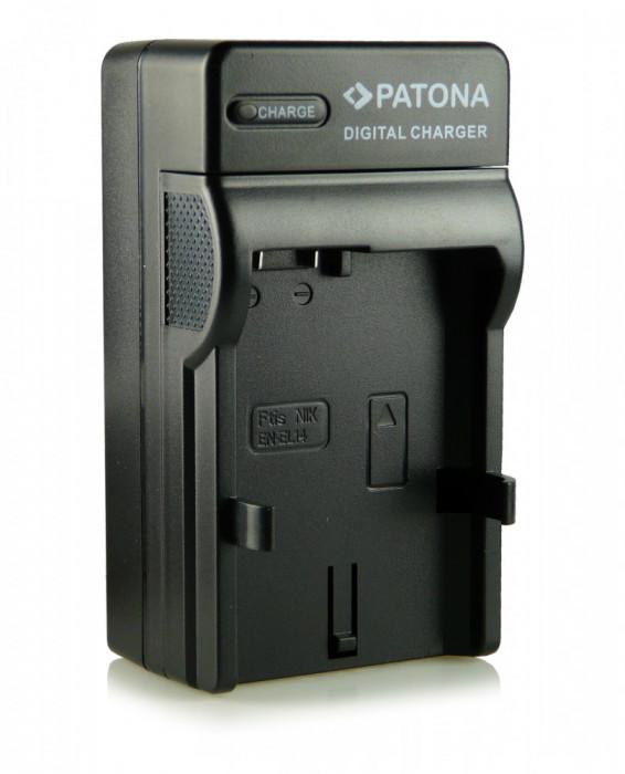 Incarcator acumulator Nikon EN-EL14 + adaptor auto(12V) Nikon D3100 D3200 D5100