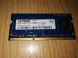 Placuta memorie Elpida 4 GB DDR3L PC3L-12800S 1600 Ghz de pe HP 250 G3